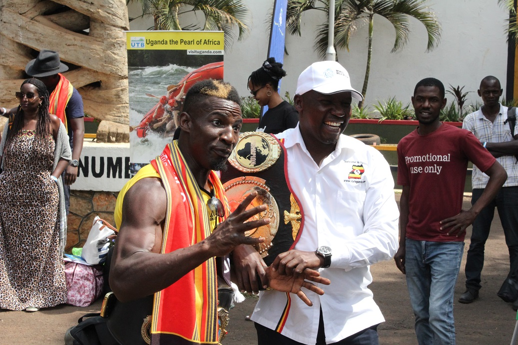 GOLOLA AND MINISTER KIWANDA
